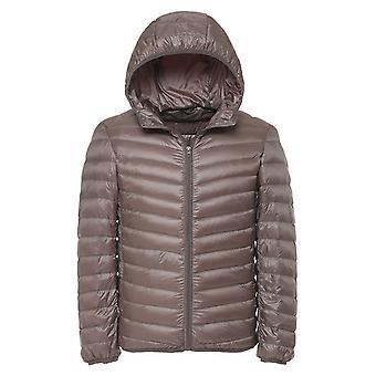 Cloudstyle masculine vers le bas veste solide capuche manteau d'hiver