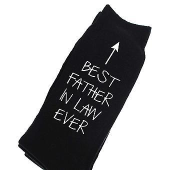 Best Brother Ever V2 Black Calf Socks
