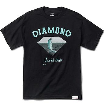 Diamond leverans Co OG Yacht Club T-shirt svart