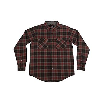 Independent Plaid Mill Long Sleeved Shirt