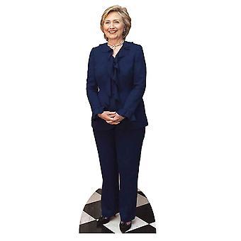 Hillary Clinton Lifesize tektury wyłącznik / Standee / Standup