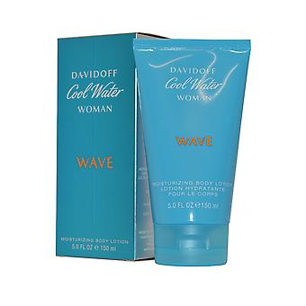 Davidoff Cool Water Wave Woman Body Lotion Moisturising 150ml
