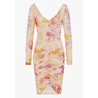 Girls On Film Womens/Ladies Charlene Ruched Front Dress