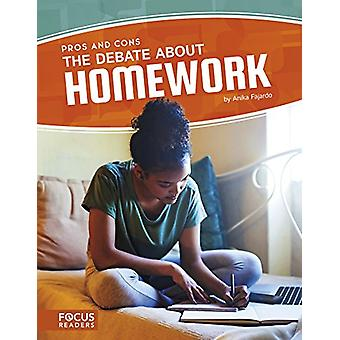 The Debate about Homework by Anika Fajardo - 9781635175936 Book