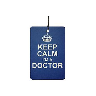 Keep Calm I'm A Doctor Car Air Freshener