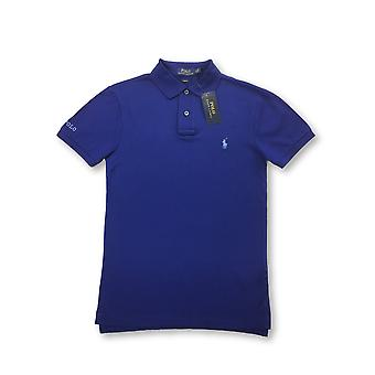 Ralph Lauren Polo slim fit polo in royal blue