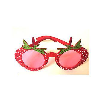 Erdbeer-Design Gläser