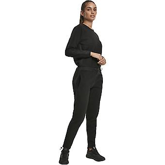 Urban Classics Ladies - POLAR Fleece Jumpsuit schwarz