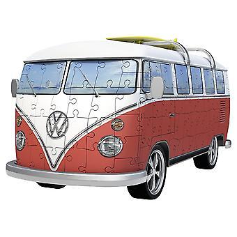 Ravensburger VW T1 Camper Van - 163pc 3D puzzel
