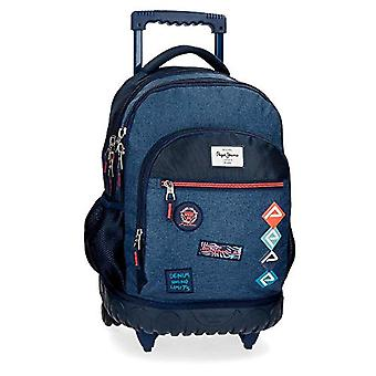 Pepe Jeans Paul Backpack 43 centimeters 28.9 Blue (Azul)