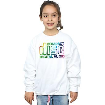 Compact Disc Girls Rainbow Logo Sweatshirt