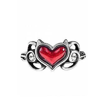 Alchemy Gothic Little Devil Ring