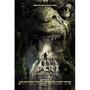 Jack The Giant Slayer Poster Double Sided Advance (2013) Original Cinema Poster