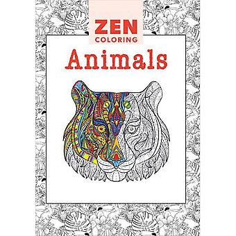 Guild Of Master Craftsman Books-Zen Coloring Animals GU-41130