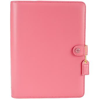 Color Crush A5 Faux Leather Personal Planner Kit-Light Pink A5PK001-LP