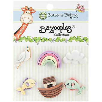 Bazooples Buttons Noah's Journey Bz 109