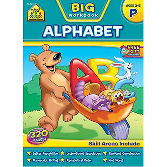 Big Workbook Preschool Alphabet, Ages 3 5 Szbwb 6327