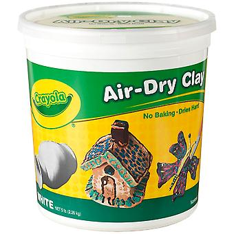 Crayola Air Dry Clay 5 Pounds Pkg White 57 5055