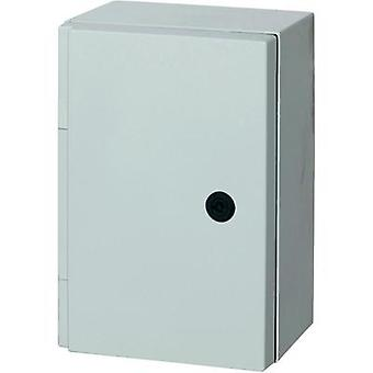 Wall-mount enclosure 415 x 315 x 170 Polyester Grey (RAL 7035) Fibox CAB P 403017 1 pc(s)
