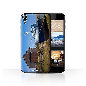 STUFF4 Case/Cover for HTC Desire 830/Boathouse/British Coast