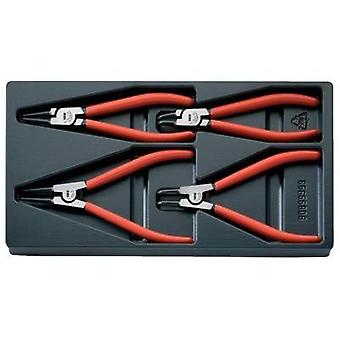 Circlip pliers set Suitable for Outer and inner rings 19-60 mm 19-60 mm