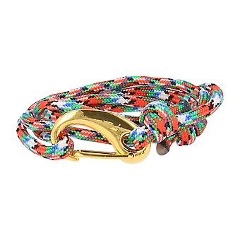 Vikings bracelet multi color lobster clasp gold