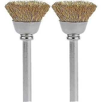 Brass brush 13 mm (536) Dremel 26150536JA