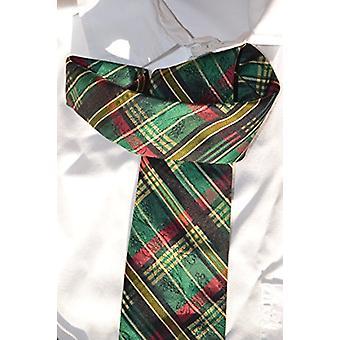 Tradisjonelt bånd slips silke i Østerrike rød grønn mønster kjole bryllupet passer Oktoberfest