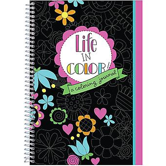 The Coloring Cafe' Coloring Book-Life In Color -A Coloring Journal CQCBK-2612
