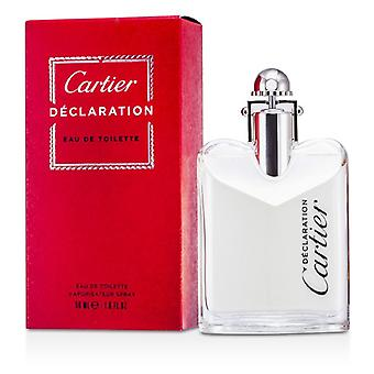 Cartier Declaration Eau De Toilette Spray 50ml/1.7oz