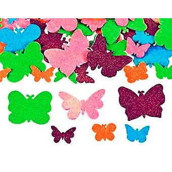 500 Glitter Butterfly Foam Stickers for Kids Crafts | Kids Insect & Bug Crafts