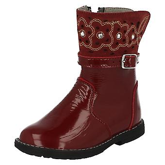 Girls Startrite Formal/Casual Winter Boots Glossy