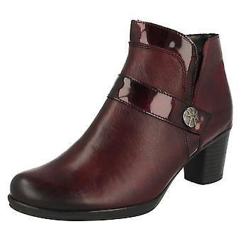 Ladies Remonte Warmlined Ankle Boots R1571