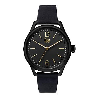 Temps de glace de Ice-Watch Small Black Gold (013064)