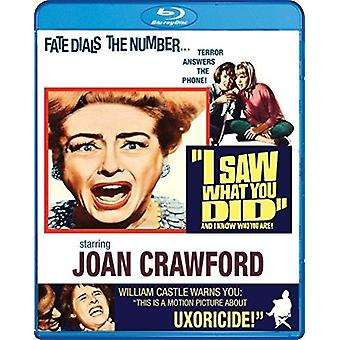 I Saw What You Did [Blu-ray] USA import