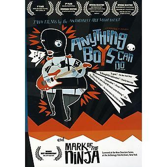 Anything Boys Can Do/Mark of Ninja [DVD] USA import