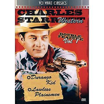 Charles Starrett: Vestlige Double Feature bind 1 [DVD] USA importerer