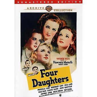 Four Daughters (Remastered) [DVD] USA import