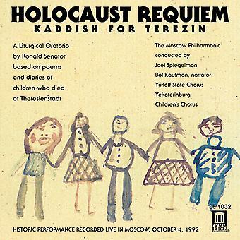 Senatore/Smetana - senatore: Olocausto Requiem-Kaddish per Terezin/Smetana: importazione USA la Moldava [CD]
