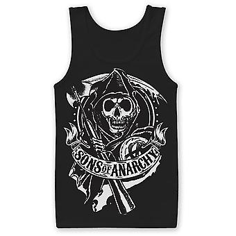 Sons Of Anarchy - MOTO CLUB - Tank Top - Black