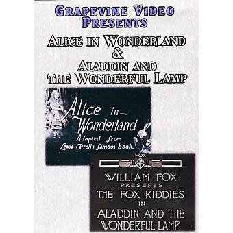 Alice in Wonderland (1915)/Aladdin & the Wonderful [DVD] USA import
