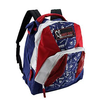 Eagle Claw Fishing Fanatic Red White & Blue Youth Backpack