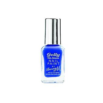 Barry M Barry M Gelly Shine Hallo Nail Paint Pflaumenmus