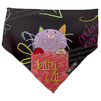 Tris & Ton Bibs For Dribbly Babies Kitty Cat