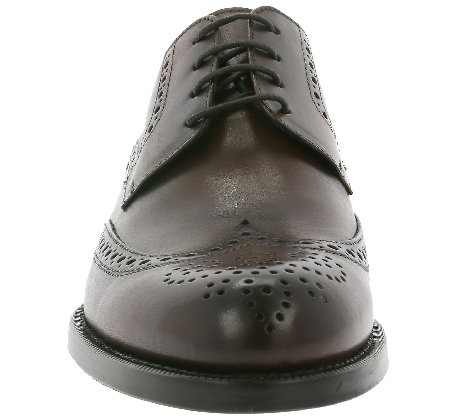Brogue BB´s TC138 genuine in Italy men's Braun leather made John Baker shoes P4q5wcE