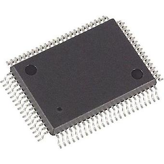 Embedded microcontroller DS5001FP-16+ QFP 80 (14x20) Maxim Integrated 8-Bit 16 MHz I/O number 32