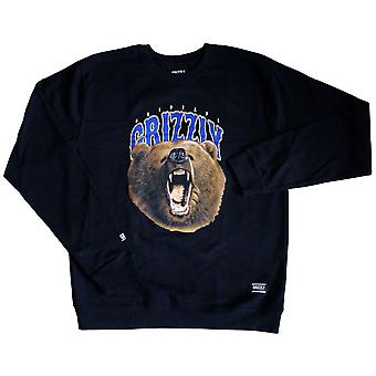 Grizzly Griptape The Roar Sweatshirt Black