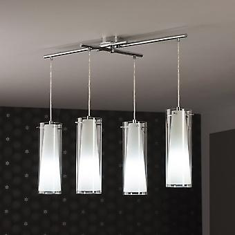 Eglo PINTO Bar 4 Light Ceiling Pendant