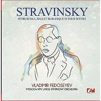 Strawiński - Petruschka balet groteska w import USA cztery sceny [CD]