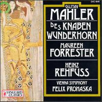 G. Mahler - Mahler: Des Knaben Wunderhorn (Youth's Magic Horn) [CD] USA import